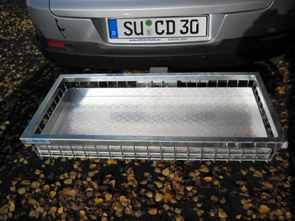 Tray Insert for Hitch Cargo Carrier - Aluminium