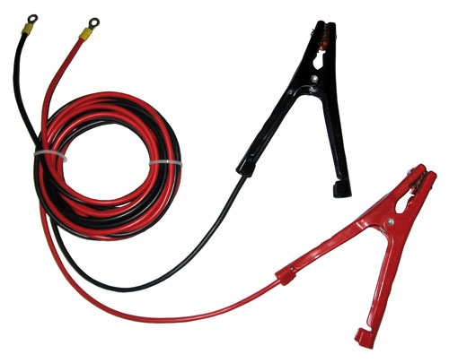 Cable set, plus and minus for winches (including battery terminals)