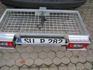 Lifting Handle for Cargo Carrier ( for Either Stainless or Galvanised version)
