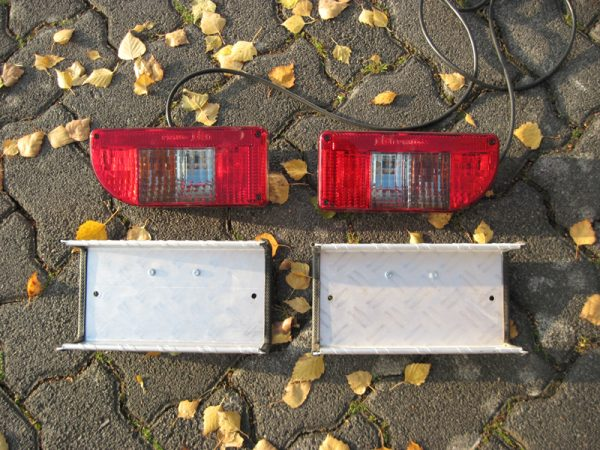 Hitch Cargo Carrier Lighting Unit 7 pin