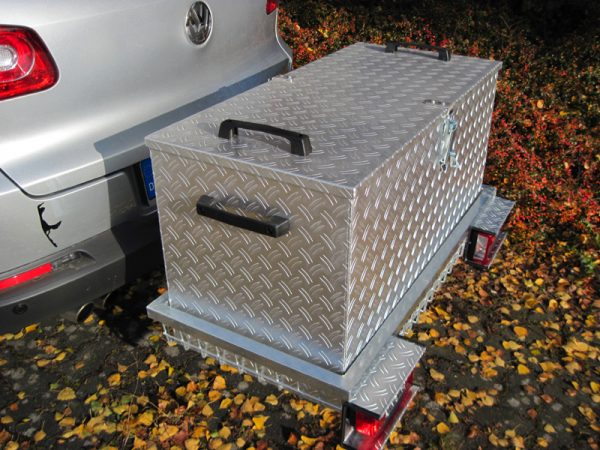 Hitch Mounted Cargo Box