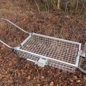 Wheel Barrow Mobile conversion kit with single front wheel [101464]